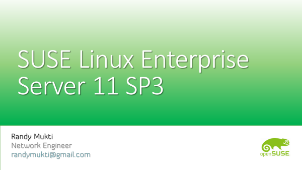 SUSE Linux Enterprise Server 11 SP3
