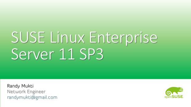 SUSE Linux Enterprise Server 11 SP3